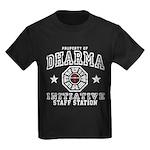 Dharma Staff Station Kids Dark T-Shirt