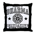 Dharma Hydra Station Throw Pillow