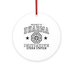 Dharma Hydra Station Ornament (Round)