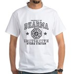 Dharma Hydra Station White T-Shirt