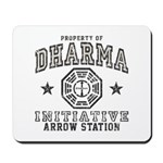 Dharma Arrow Station Mousepad