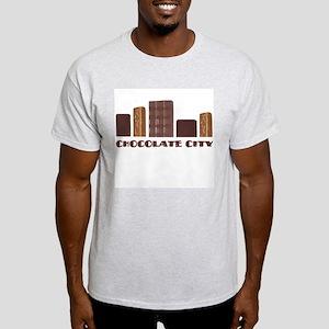 Chocolate City Ash Grey T-Shirt