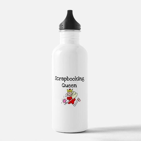 Scrapbooking Queen Water Bottle