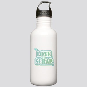 Love To Scrap Stainless Water Bottle 1.0L