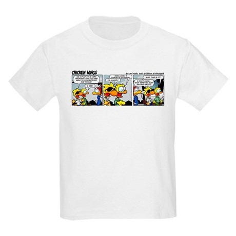 0213 - Concentrate and focus Kids Light T-Shirt