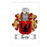 Tartini Coat of Arms Postcards (Package of 8)