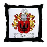 Tartini Coat of Arms Throw Pillow