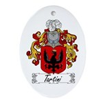 Tartini Coat of Arms Oval Ornament