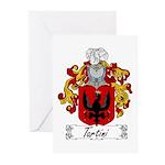 Tartini Coat of Arms Greeting Cards (Pk of 10)