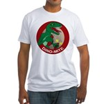 Dino-mite Fitted T-Shirt