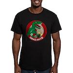 Dino-mite Men's Fitted T-Shirt (dark)