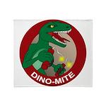 Dino-mite Throw Blanket
