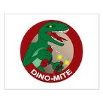 Dino-mite Small Poster