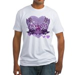Twilight Forever by Twidaddy.com Fitted T-Shirt