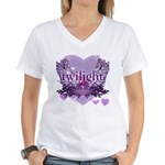 Twilight Forever by Twidaddy.com Women's V-Neck T-