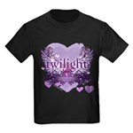 Twilight Forever by Twidaddy.com Kids Dark T-Shirt