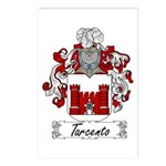 Tarcento Family Crest Postcards (Package of 8)