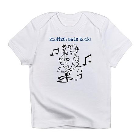 Scottish Girls Rock Infant T-Shirt