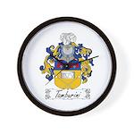 Tamburini Coat of Arms Wall Clock