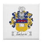 Tamburini Coat of Arms Tile Coaster