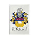 Tamburini Coat of Arms Rectangle Magnet