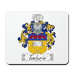 Tamburini Coat of Arms Mousepad