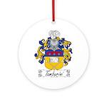 Tamburini Coat of Arms Ornament (Round)