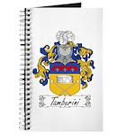 Tamburini Coat of Arms Journal