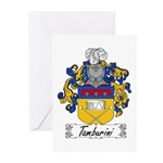 Tamburini Coat of Arms Greeting Cards (Package of