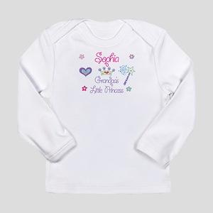 Sophia - Grandpa's Little Pri Long Sleeve Infant T
