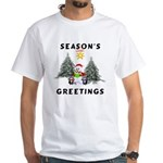 Christmas Greetings White T-Shirt
