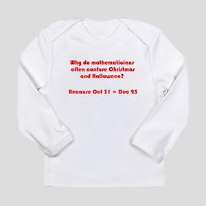 Octal or Decimal? #2 Long Sleeve Infant T-Shirt