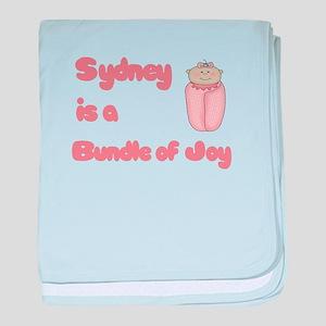 Sydney is a Bundle of Joy baby blanket