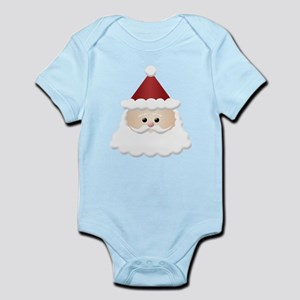 Cute Santa Claus Cartoon Infant Bodysuit