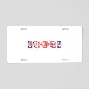 Carlton Aluminum License Plate