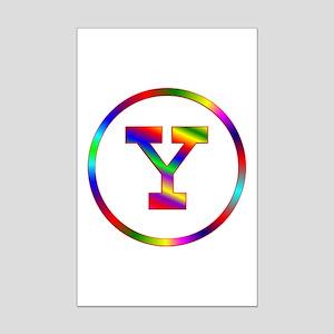Letter Y Mini Poster Print