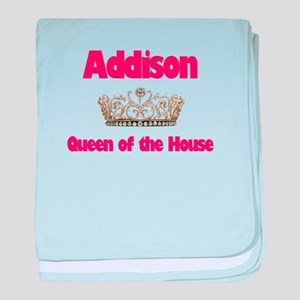 Queen Addison baby blanket