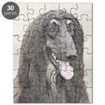 Afghan Hound Puzzle