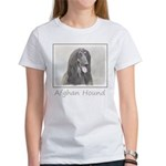 Afghan Hound Women's Classic White T-Shirt