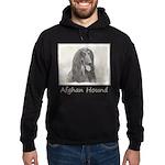 Afghan Hound Hoodie (dark)