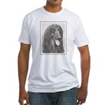 Afghan Hound Fitted T-Shirt