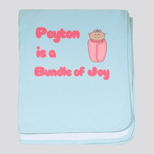 Peyton is a Bundle of Joy baby blanket