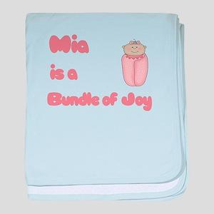 Mia is a Bundle of Joy baby blanket