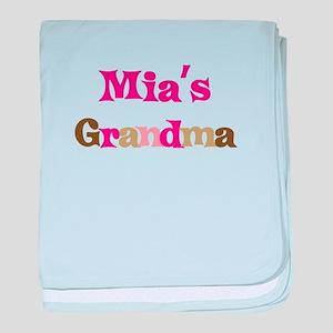 Mia's Grandma baby blanket