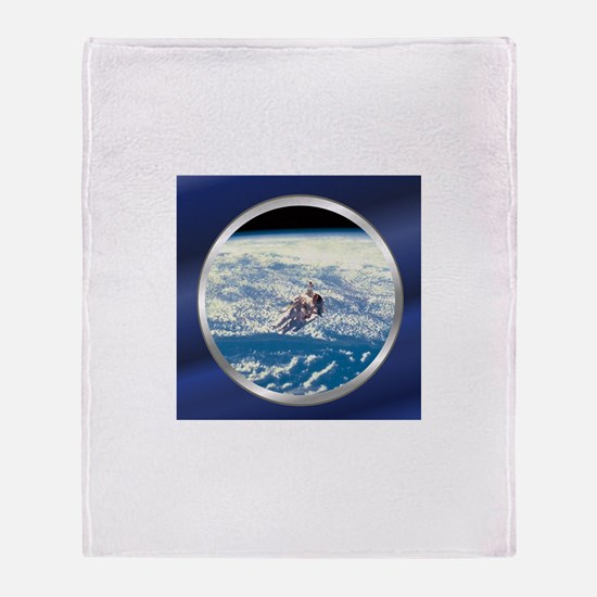 Shuttle Orbit Throw Blanket
