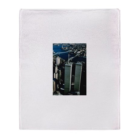 Twin Towers Throw Blanket