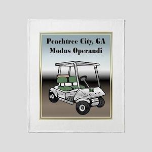 Peachtree City Throw Blanket