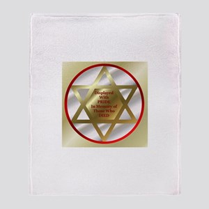 Star of David Throw Blanket