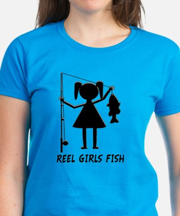 Reel Girls Fish Tee