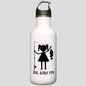 Reel Girls Fish Stainless Water Bottle 1.0L